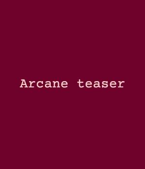Arcane teaser  micro film