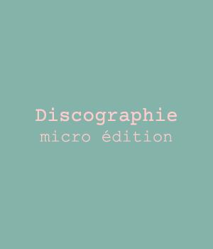 Discographie micro-édition